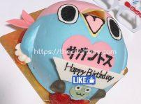 サガン鳥栖のマスコット!ウィントスのキャラクターケーキを芝浦レモンツリー(田町)でオーダーしたら想像力の限界を超えるほど可愛かった