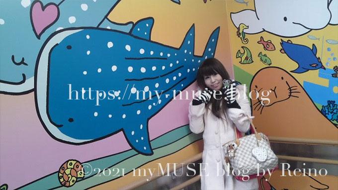 2010年当時『横浜・八景島シーパラダイス』はジンベエザメの飼育は日本国内では5館目となり、東日本唯一の展示施設でした。