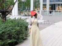 ジルバイジルスチュアート購入品の服はキャミワンピース&マジョリカスリーブブラウス