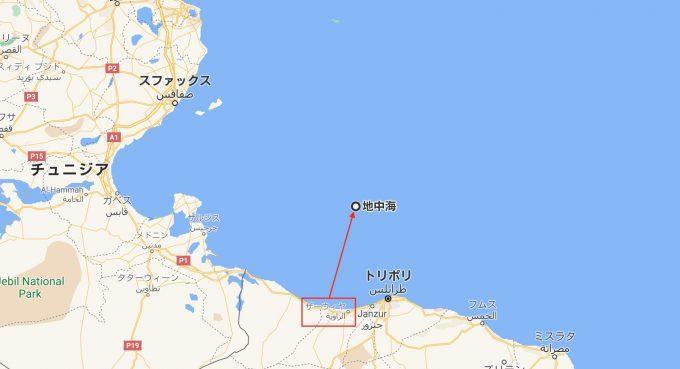 ヨシキリザメのサメ事故?2017年リビア沖で移民ボートが転覆