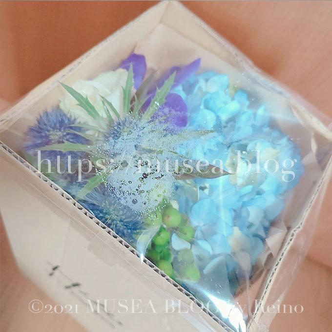 実際に届いたお花の定期便HitoHana(ひとはな)のお花の様子