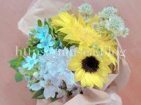 写真多数!お花の定期便HitoHana(ひとはな)の口コミブログ【ブルー8月2日週】